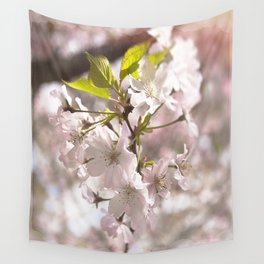 Tender Blossoms Wall Tapestry