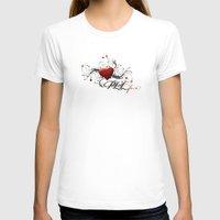 pretty little liars T-shirts featuring Pretty Little Liars fan heart by MaNia Creations