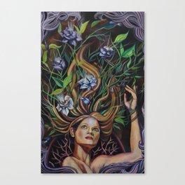 Transmutation Blooms Canvas Print
