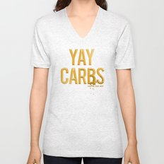yay carbs Unisex V-Neck