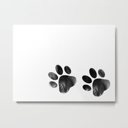 Cat's footprints Metal Print