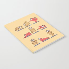 Sloth Yoga Notebook