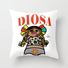 Diosa Throw Pillow