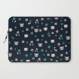 Cute Cats Pattern Laptop Sleeve