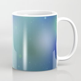 Green Splatter Coffee Mug