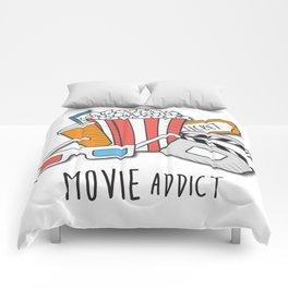 Movie Addict Comforters