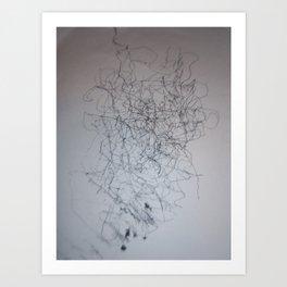 lines number 2 Art Print