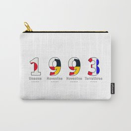 1993 - NAVY - My Year of Birth Carry-All Pouch