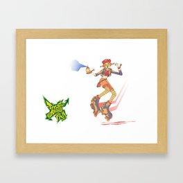 JETSET RADIO! - fanart Framed Art Print