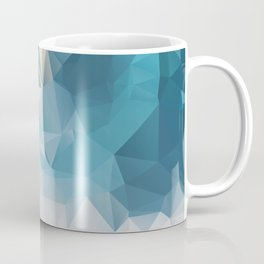 Mint 2 — Poster, Art Prints, Deco, Scandinavian Images, Geometric, Pastel Poster, Mountains Summer, Sea Coffee Mug