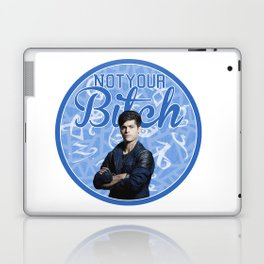 Alec Lightwood -Not your Bitch Laptop & iPad Skin