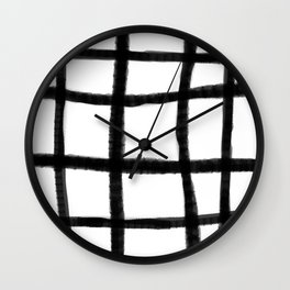 Wobble Grid Wall Clock