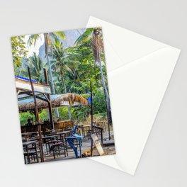 Thailand Tiki Bar Stationery Cards