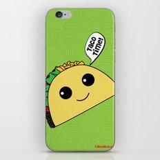 Taco Time iPhone & iPod Skin