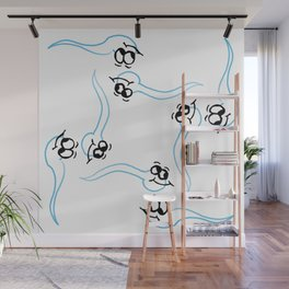 Sperm whale of a good time Wall Mural
