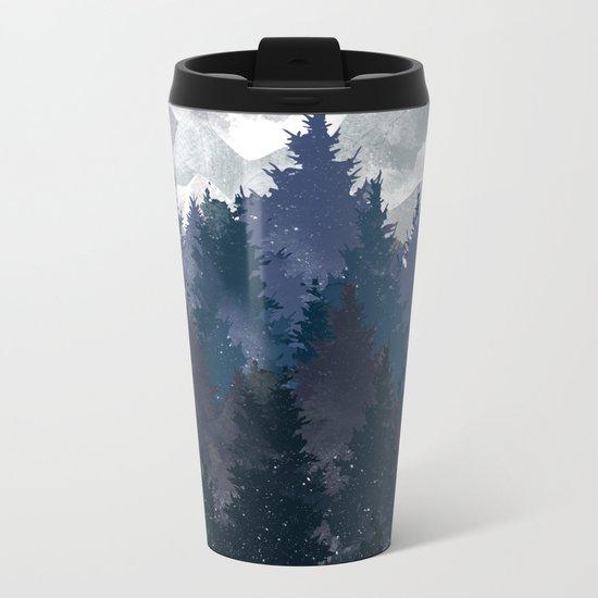 Winter i will never forget you Metal Travel Mug