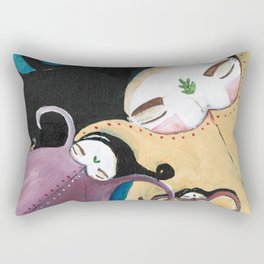 Sleeping Bhoomies Rectangular Pillow