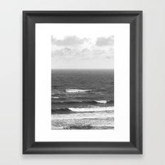 See the sea Framed Art Print