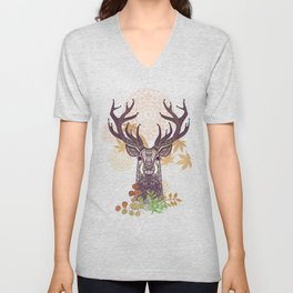 THE FRIENDLY STAG Unisex V-Neck
