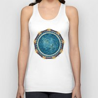 stargate Tank Tops featuring Starry Gate by girardin27