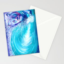 Lion Wave  - Live painting @ nw roots festival - reggae Stationery Cards