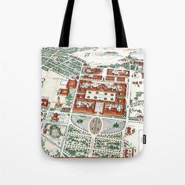 STANFORD CALIFORNIA University map Tote Bag