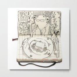 The Last Supper (Frog) Metal Print