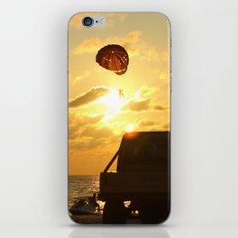 Sunset on Patong beach. iPhone Skin