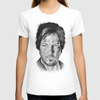 daryl dixon T-shirts featuring Daryl Dixon by 13 Styx