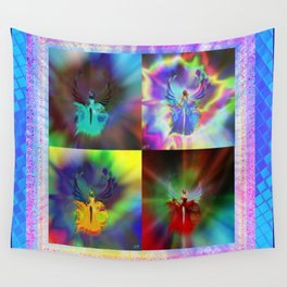 Four out of the Nova Wall Tapestry