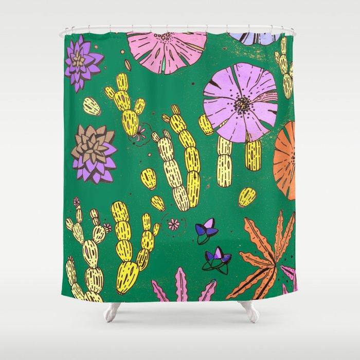 Baja California Shower Curtain