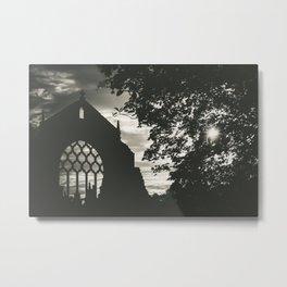 Chapel Ruins Metal Print