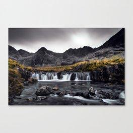Fairy Pools - Isle Of Skye Canvas Print