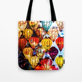 Lanterns of Hoi An, Vietnam I Tote Bag
