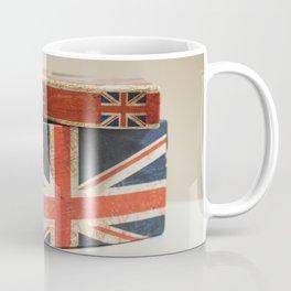 Cardboard box consumed with the British flag Coffee Mug