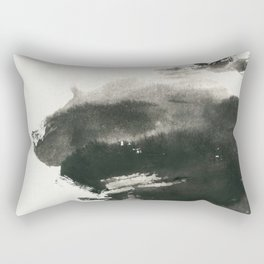A boat in the wild Rectangular Pillow