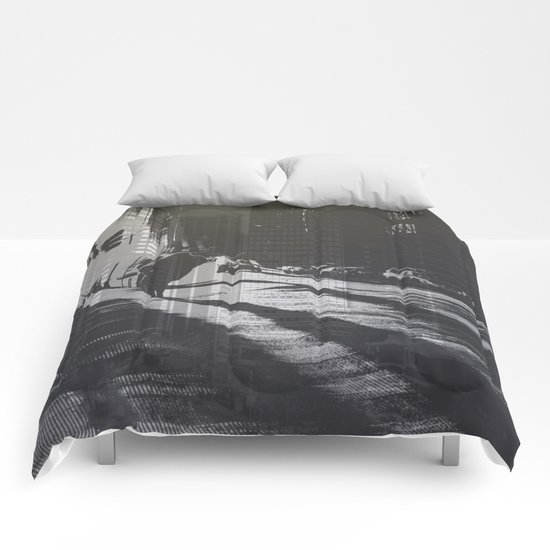 City collage Comforters