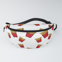 French Fries Pattern - Shapes - Graphic - Symbols - Food Fanny Pack
