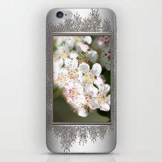 Aronia Blossoms iPhone & iPod Skin