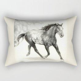 Appaloosa Stallion Rectangular Pillow