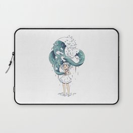 Daughter of the Sea Laptop Sleeve