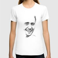tom hiddleston T-shirts featuring Tom Hiddleston by Cécile Pellerin