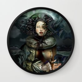"""""""Returning from a Dream"""" Wall Clock"""