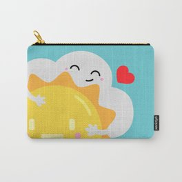 Partly Cloudy and Partly Sunny Love Carry-All Pouch