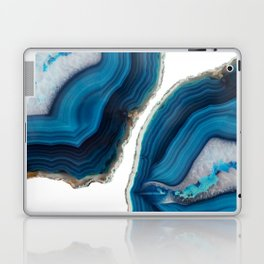 Blue Agate Laptop & iPad Skin