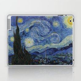 The Starry Night by Vincent van Gogh Laptop & iPad Skin