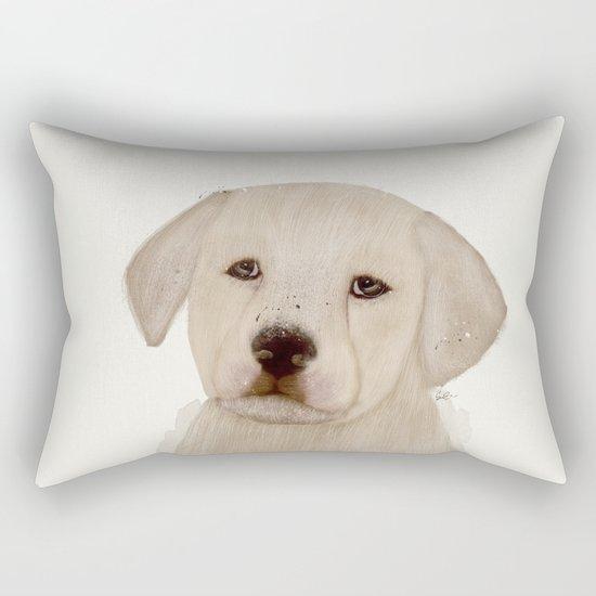 little labrador Rectangular Pillow