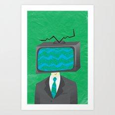 Media of the Mind Art Print