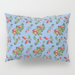 Rose hip Pattern Pillow Sham