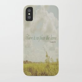 There is no place like home -The Wizard Of OZ iPhone Case